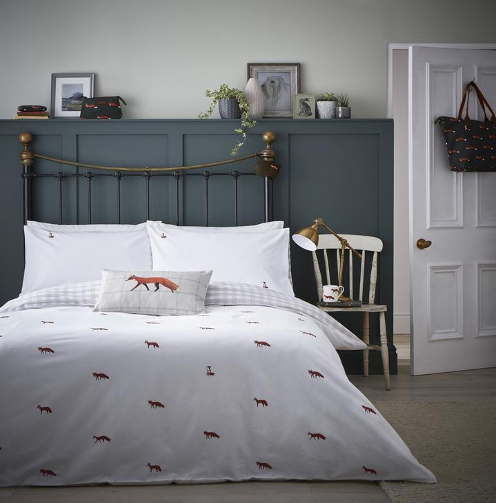 Sophie Allport Foxes Duvet Cover Set King