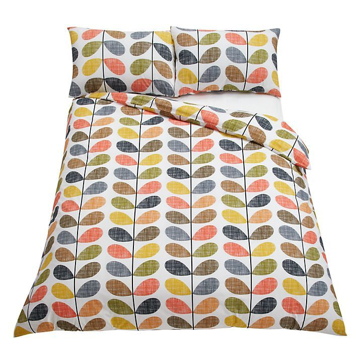 Orla Kiely Scribble Stem Multi Duvet Cover Single