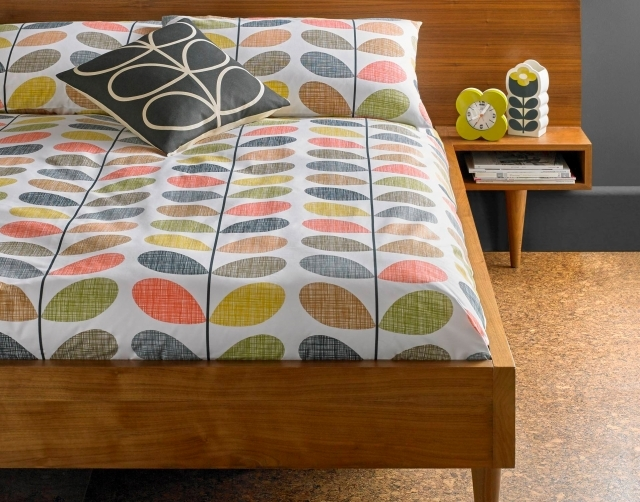 Orla Kiely Scribble Stem Multi Duvet Cover King