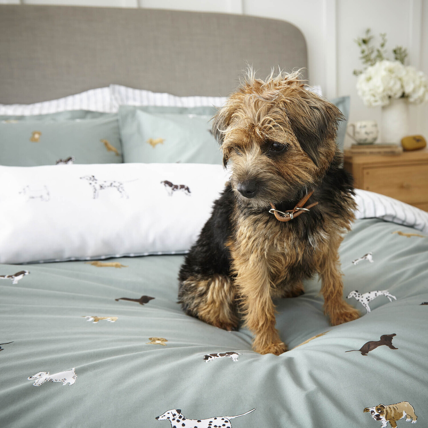 Sophie Allport Fetch Duvet Cover Set Double