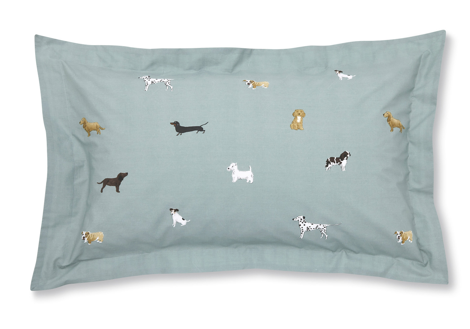 Sophie Allport Fetch Oxford Pillowcase Pair