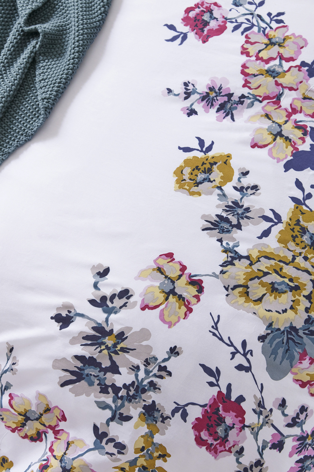 Joules Cambridge Floral Creme Bedding Set Super King