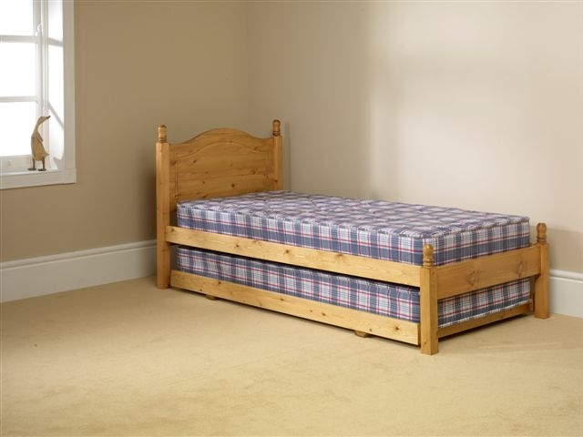2 in 1 Pine Guest Bed