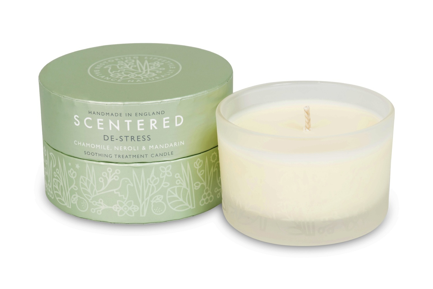 Scentered Wellbeing Ritual Aromatherapy Candle De Stress