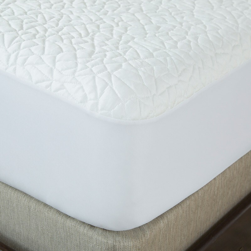 Protect A Bed Snow Nordic Chill Cooling Mattress Protector Double