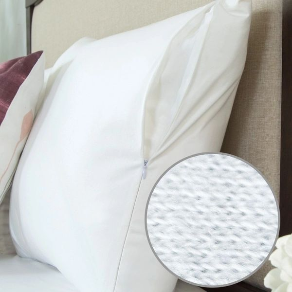 Protect a Bed Cotton Pillow Protector Pair