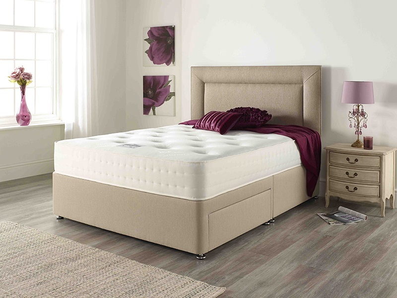 Relyon Classic Natural Supreme Roll Up Mattress Double