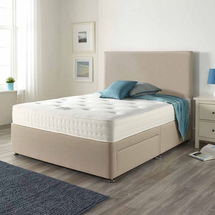 Relyon Classic Natural Deluxe Roll Up Mattress Double